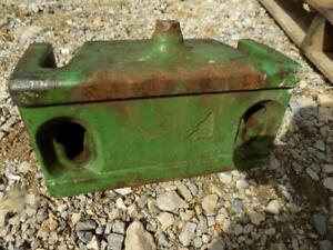John Deere R51679 Front Weight Support Came Off A 2640 Tractor Will Fit Others
