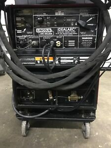 Lincoln Tig 250 250 Idealarc Tig Stick Welder Water Cooled Will Ship