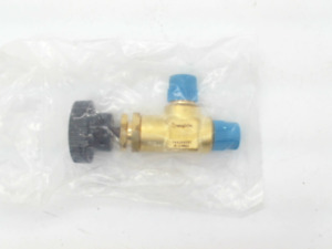 Swagelok B 2jna2 Brass Screwed bonnet Angle pattern Needle Valve 1 8 In Mnpt