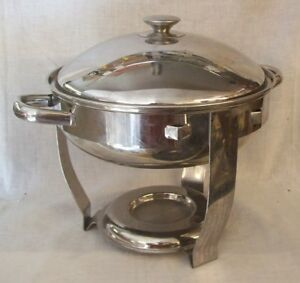 Restaurant Equipment Round Vollrath Chaffing Dish With Lid And Water Pan