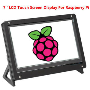 7 Lcd Touch Screen Panel Hdmi 1024 600 W Bracket For Raspberry Pi banana Pi