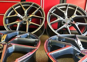 Mercedes 20 Inch Gunmetal S63 20 8 5 20 9 5 Rims Set4 New Exclusive S550 Fit Amg