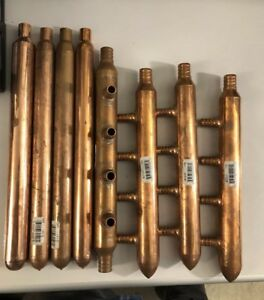Copper Fitting Lot Pex Manifolds Air Chambers