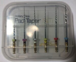 Endodontic Endo Pac taper Niti Conform Rotary Files 31mm Assorted 6 Pcs pacdent