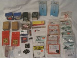 Electronics Components Lot Vintage Electronic Parts Nos Fuse Diode Control