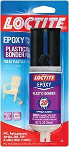 Loctite 1363118 8 Epoxy Plastic Bonder 0 85 Fl Oz Syringes case Of 8