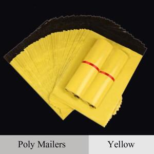 Mail Packaging Poly Shipping Plastic Mailing Bag By Envelope Courier Yellow