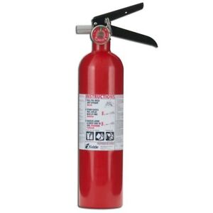 Fire Extinguisher 1a10 B c Rechargeable Residential Home Wall Mount Dry Chemical
