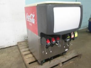 cornelius Ed150 Hd Commercial Lighted 6 Flavors Soda W ice Dispenser nsf
