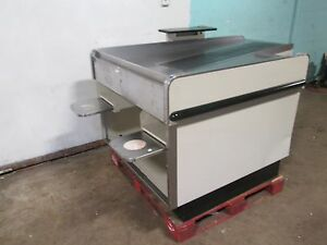 Heavy Duty Commercial Retail grocery Store Conveyor Check out Counter