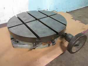 ata Troyke Bl 18 Horizontal Position Only Rotary Table Milling Weld tool Maker