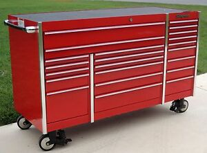 Snap On Krl1023 Candy Apple Red Tool Box Toolbox Work Mat