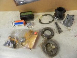 1965 67 Ford Mustang Parts Lot New Used Electrical Bumpers Rubber Nice Cool