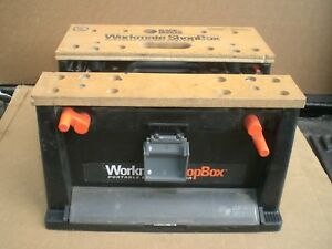 Black and Decker Workmate shop box bench top project center