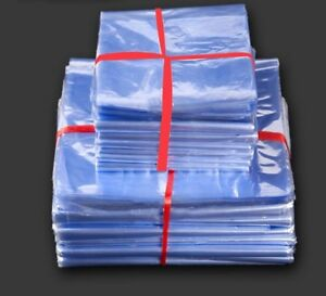Pvc Heat Shrink Bags Clear Membrane Plastic Cosmetic Packaging Pouches Plastic
