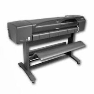 Hp Designjet 800ps Plotter 42 Wide Format Printer