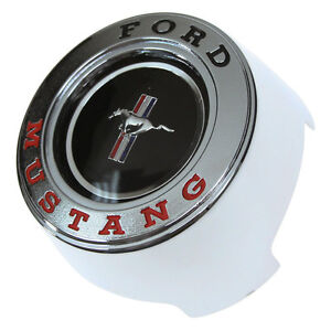 Mustang Steering Wheel Center Cap Use With Woodgrain Wheel 1965 1966