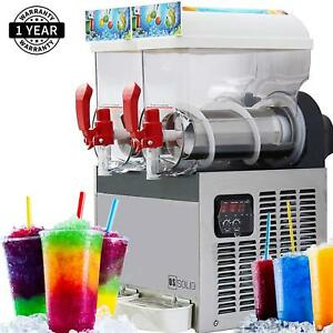 Slush Machine Slushie Machine With Two 15l Tanks 110v And 60hz By U s Solid
