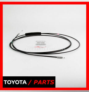 Factory Toyota Yaris Sedan 2007 2011 Trunk Release Cable Oem 64607 52090