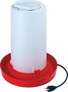 Heated Chicken Waterer For Winter 3 Gallons