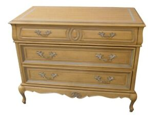 Vintage American Of Martinsville Three Drawer Country French Chest
