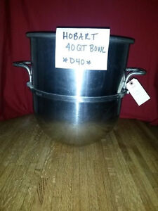 Hobart 40 Qt Bowl d40 Stainless Steel Mixer Bowl fits Hobart 40 Qt Mixers