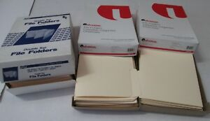 Universal File Folders Manila 1 3 Cut One ply Tab Legal Size 15113 qty 300