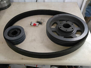 Quincy Drive Group 140117 502 Change From 30hp To 50hp Pulleys