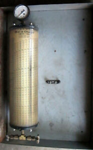 Vintage Charging Cylinder Robinair R22 R12 R500 Refrigerant With Case 1960 s