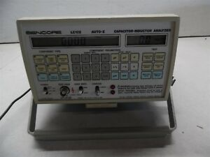 Sencore Lc102 Auto z Capacitor inductor Analyzer
