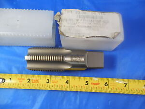 New Gtd 1 11 1 2 Npt 5 Flute Pipe Tap Hs Usa Made Greenfield Tap
