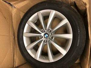 Set Of 4 New Bmw Tires With Rims Michelin Radial X 245 50r18 100v New 216