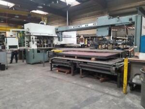 40 Ton Whitney Cnc Punch plasma Combo Machine