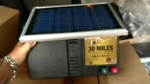 American Farm Works 30 Mile Solar Powered Electric Fence Controller