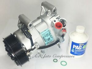 2016 2018 Honda Civic 17 18 Crv 1 5lonly A C Compressor Reman Yr Wrty