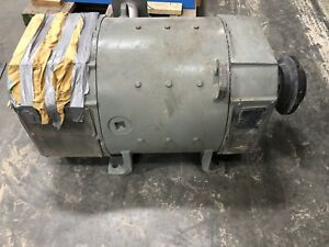 300 Hp Dc Emerson Electric Motor 500v 1750 Rpm 506at Frame
