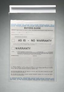 Clip on Buyers Guide Hangers Holders Car Window Document Holders 50 pack