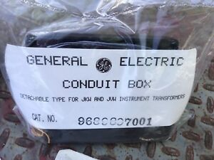 Conduit Junction Box 9689638 A Detachable Type New General Electric Ge Lot Of 10