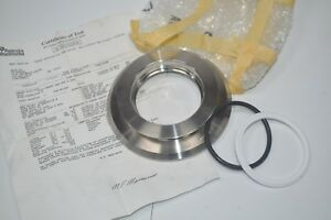 New 3a Sanitary Tank Flange Weld Spud 4 center Hole 3 5 Heat Stamped 414143