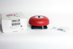 Potter 1806120 Pba 1206 120vac 6 Red Bell