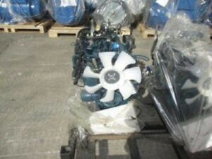 Kubota D 1803 Diesel Engine 37hp All Complete And Run Tested