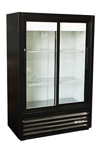 True Gdm 33sl 54 2 Door Glass Front Cooler Refrigerator Free Shipping