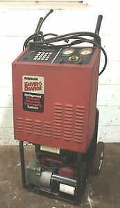 Robinair R12 Refrigerant Recovery Recycling And Recharging Station Machine 76