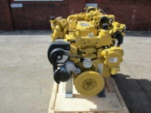 Cat C7 1 Diesel Engine 173 Hp 0 Miles All Complete And Run Tested