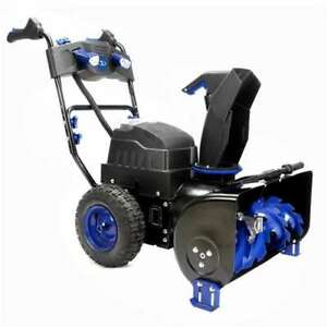 Snow Joe 80v 24 Inch 2 Stage Cordless Electric Snow Blower Thrower for Parts