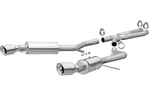 Magnaflow Catback Exhaust System For 2007 2010 Bmw 335i Coupe 3 0l 16540