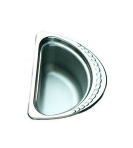 Restaurant Equipment Stainless Steel Food Bowl Bon Chef 1 2 Size 6 X 6 X 4 75