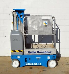 Nice Genie Gr15 15 Scissor Lift 21 Working Height