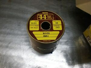 Kester Qqs 571 sn60 Rosin Core Solder 60 40 5 Lbs 0625 1 16 The Good Stuff