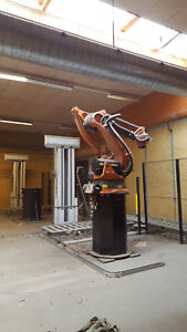 Kuka Kr100 2 Pa Including Plinth And End Effector